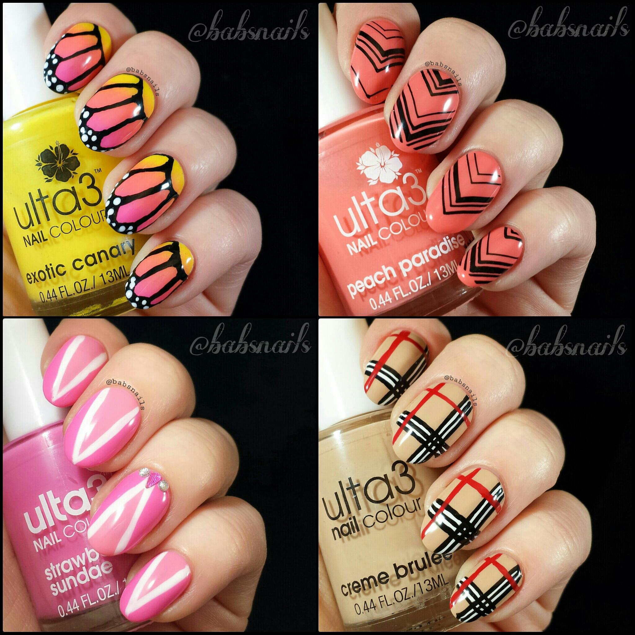 Ulta3 Nail Art   Bab\'s Nails Blog